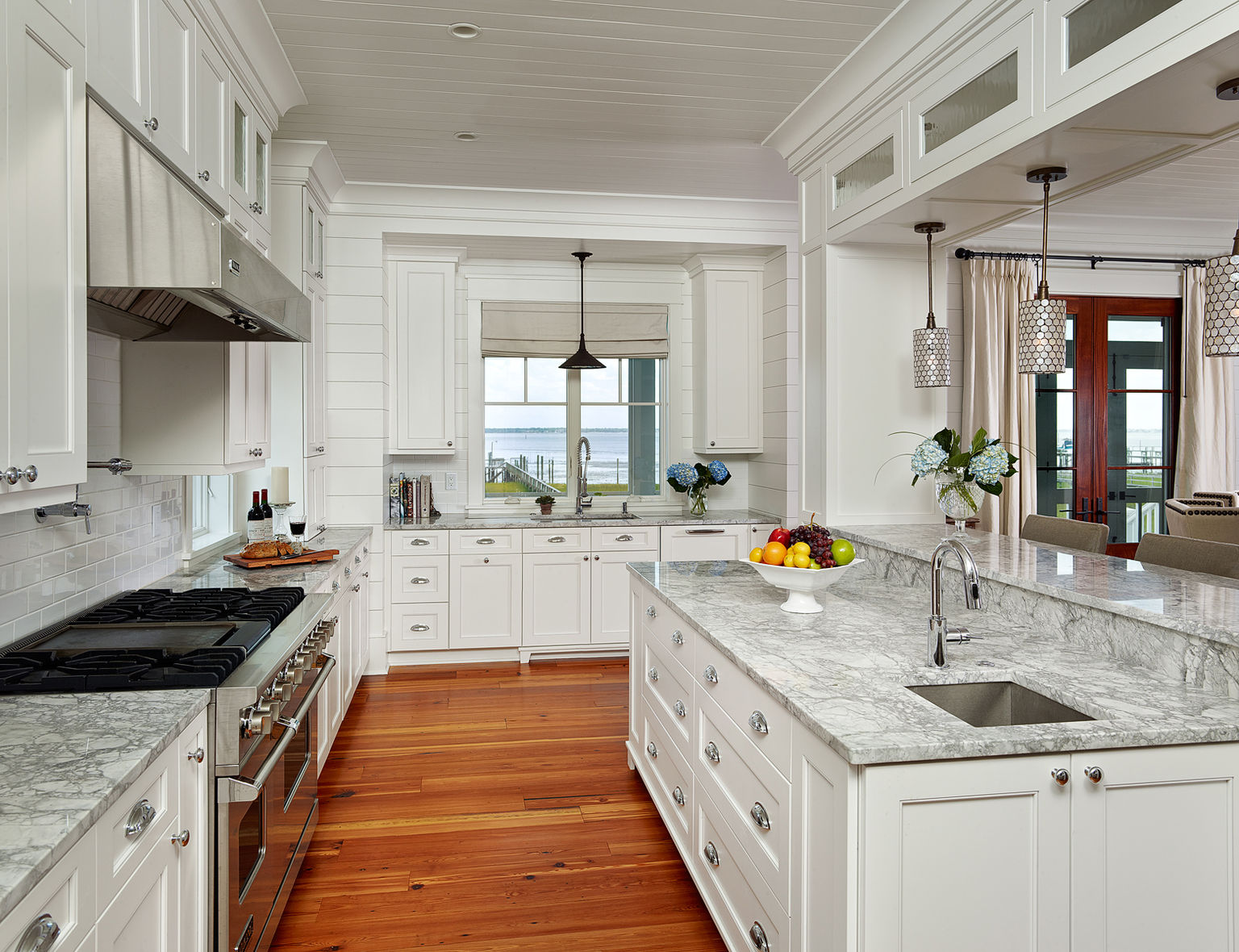 Painting Kitchen Cabinets Long Island Mt Pleasant Harborfront Cottage Herlong And Associates
