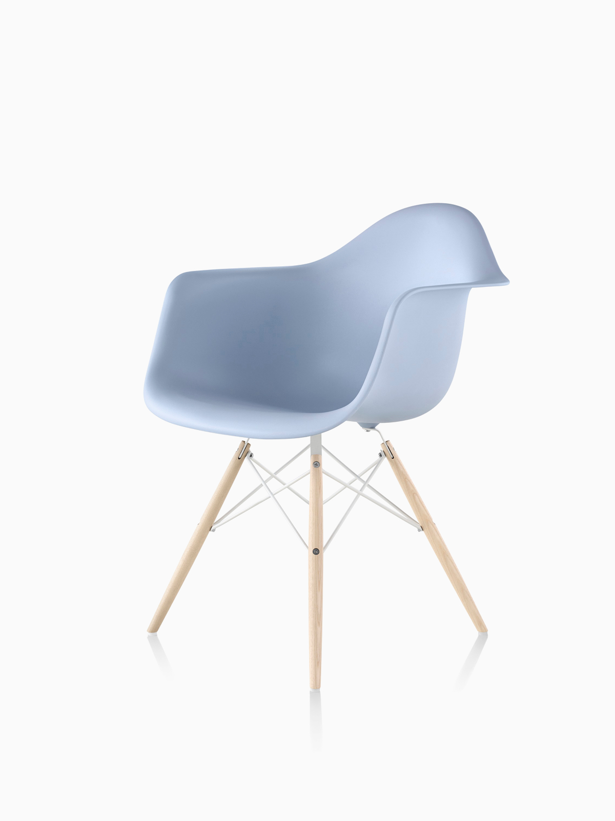 Eames Chair Beige Eames Molded Plastic Side Chair Herman Miller
