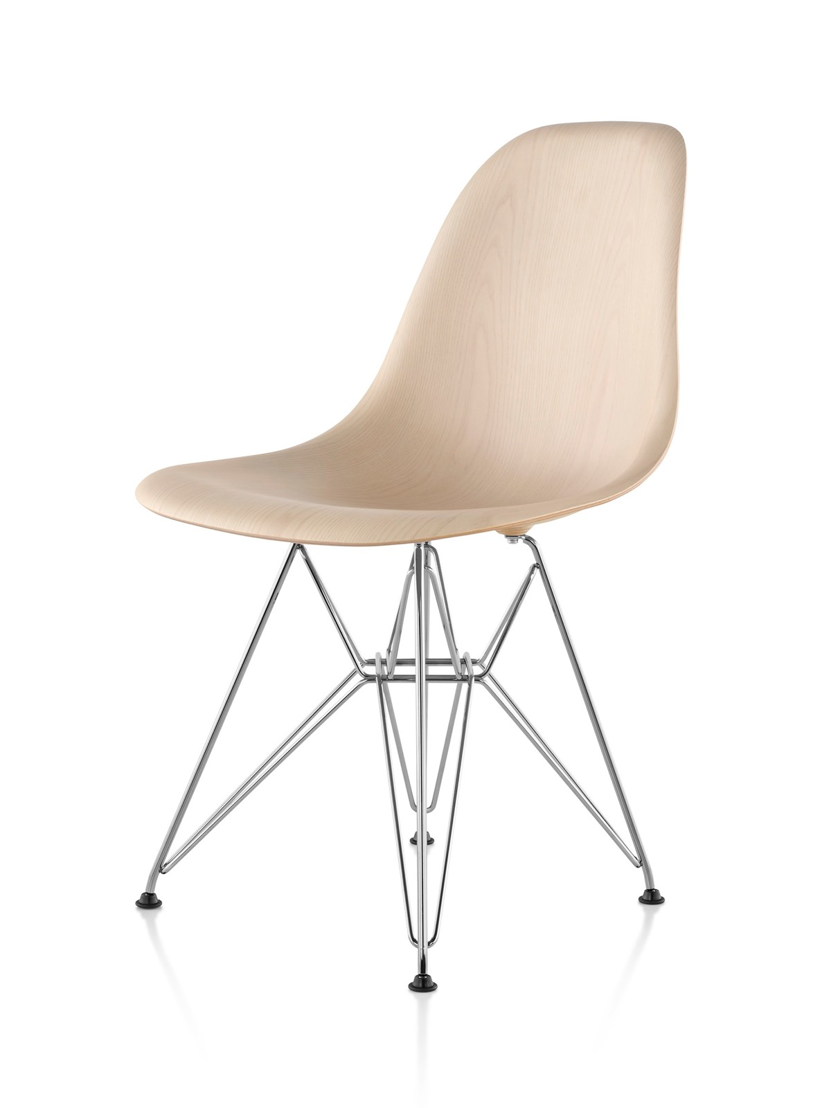 Eames Chair Bim Eames Molded Wood Side Chair Herman Miller