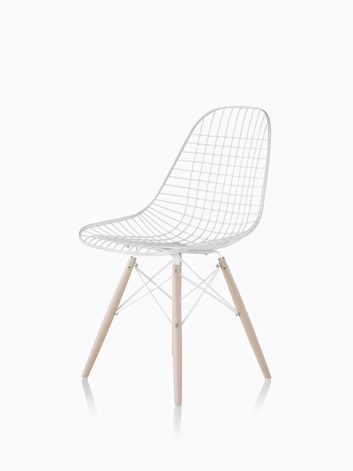 Sedia Eames Dws Eames Wire Side Chair Herman Miller