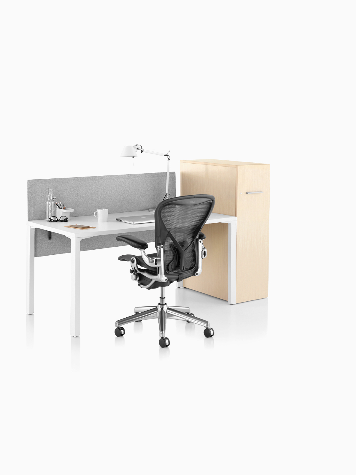 Matching Office Desk Accessories Storage Cabinets Herman Miller