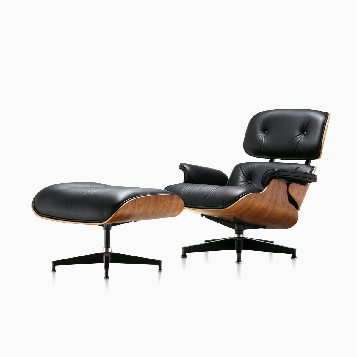 Eames Lounge Chair Zubehör Eames Lounge Chair And Ottoman Herman Miller