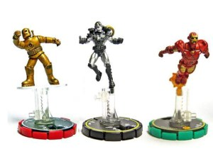 Q: What do these HeroClix figures have in common (besides all being Tony Stark-related characters)?