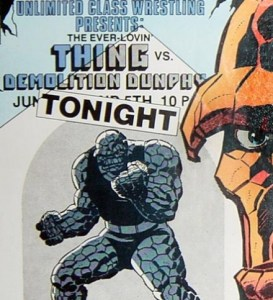 Yeah, it's clobberin' time, all right.