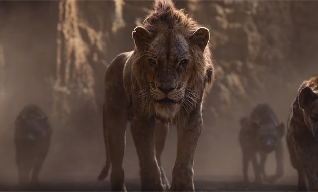 the lion king first look of disney u0026 39 s live action remake