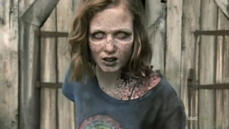 The Walking Dead sophia zumbi