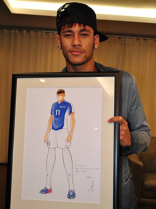 Neymar Super Campeões Yoichi takahashi quadro