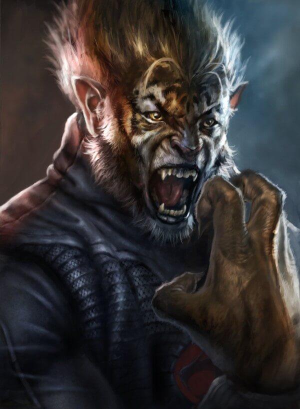 ThunderCats realista Tygra