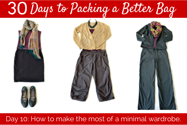 Day 10 How To Make The Most Of A Minimal Wardrobe