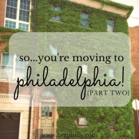 So...You're Moving to Philadelphia! {Picking Your First Hood}