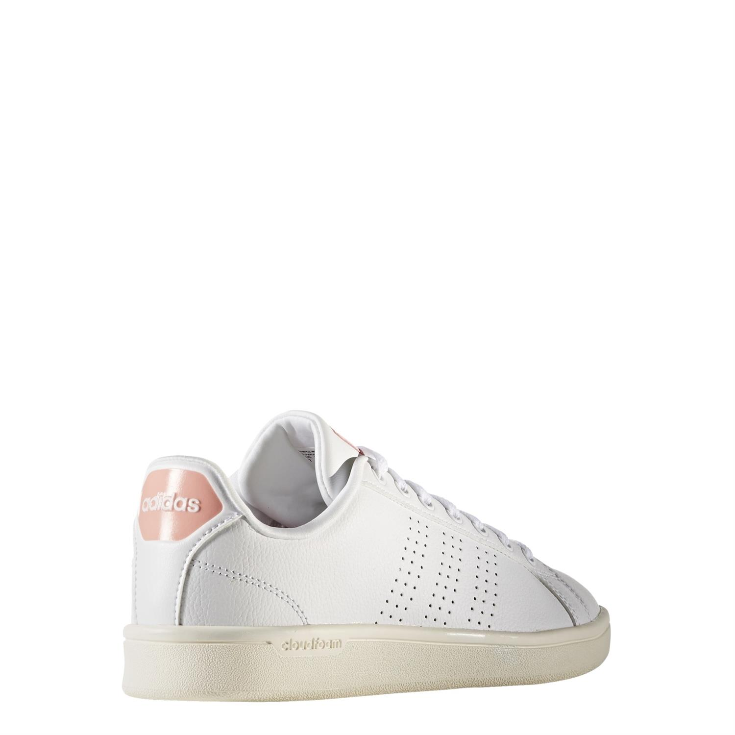 Witte Gympen Adidas Cloudfoam Advantage Dames Sneakers Wit Dames