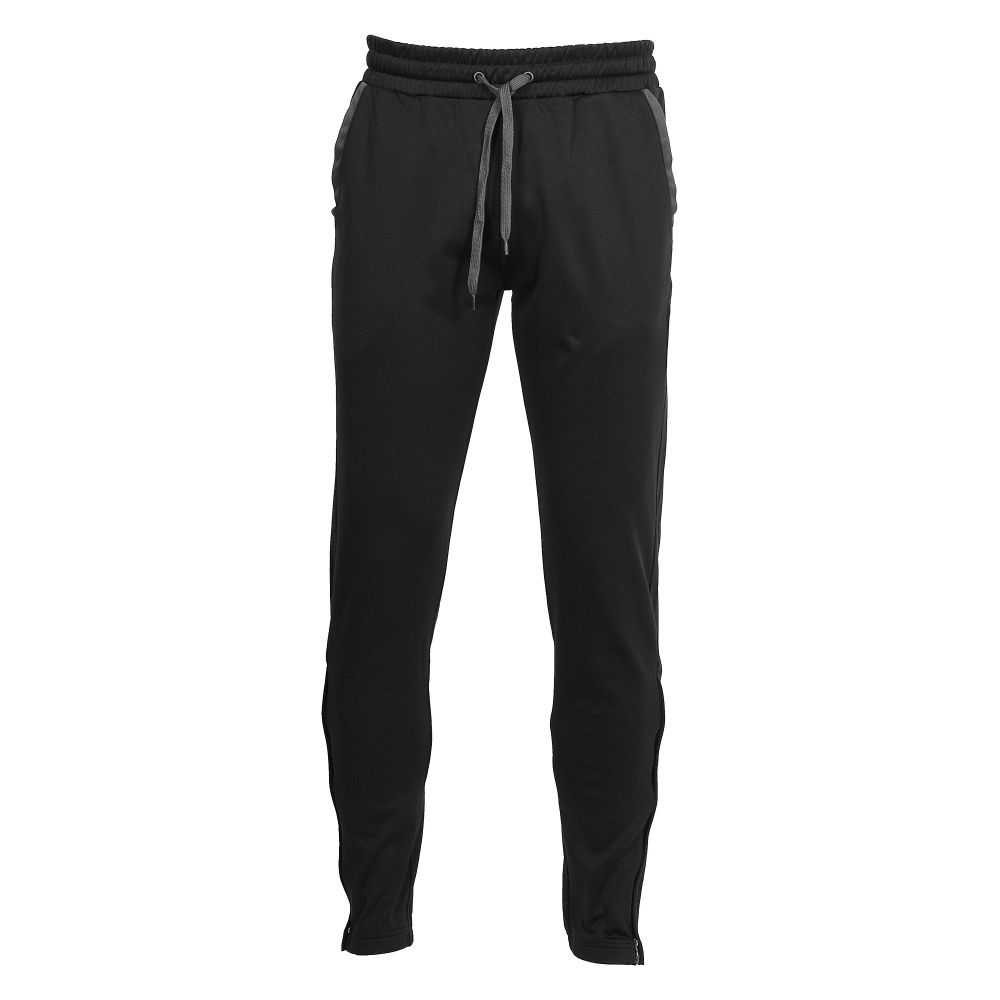 Lange Trainingsbroek Heren Hummel Authentic Noir Pant Voetbalbroek (lang) Zwart