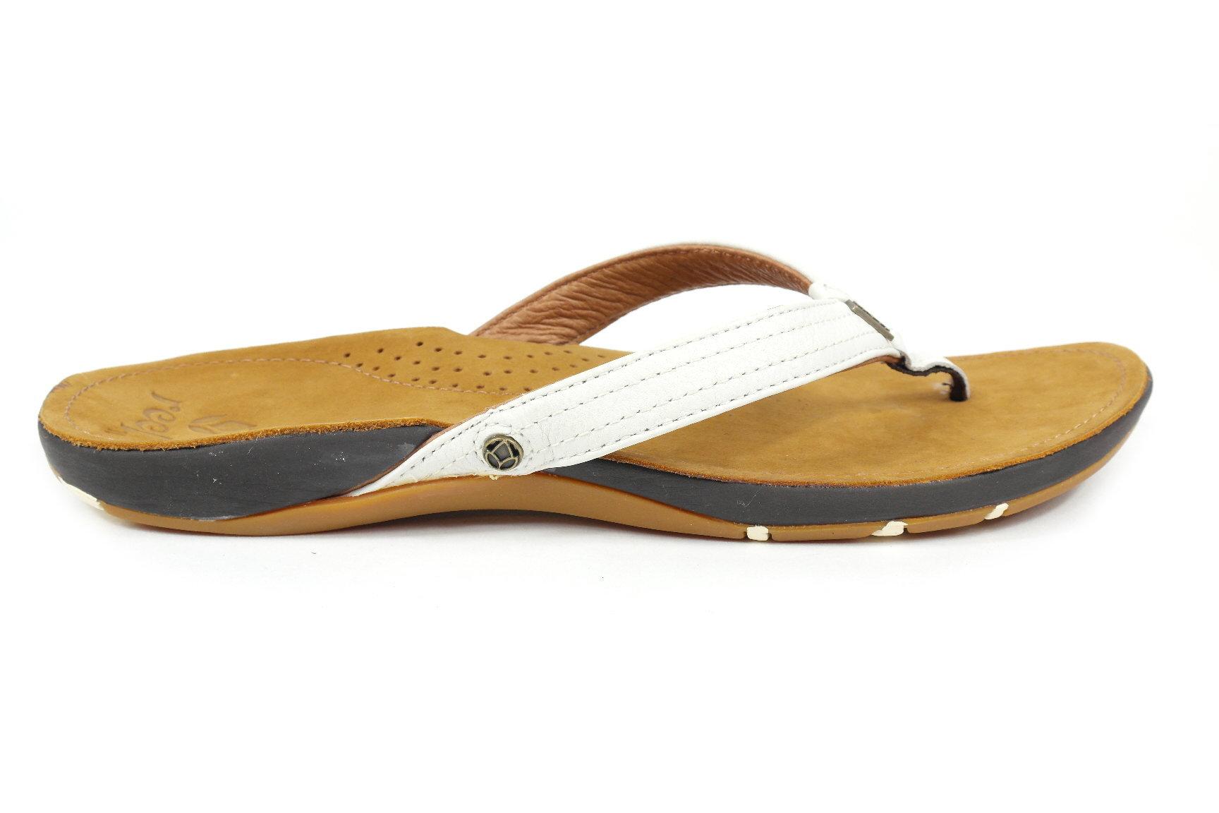 Stevige Schoenen Dames Reef Miss J-bay Dames Slippers Wit - Slippers & Sandalen