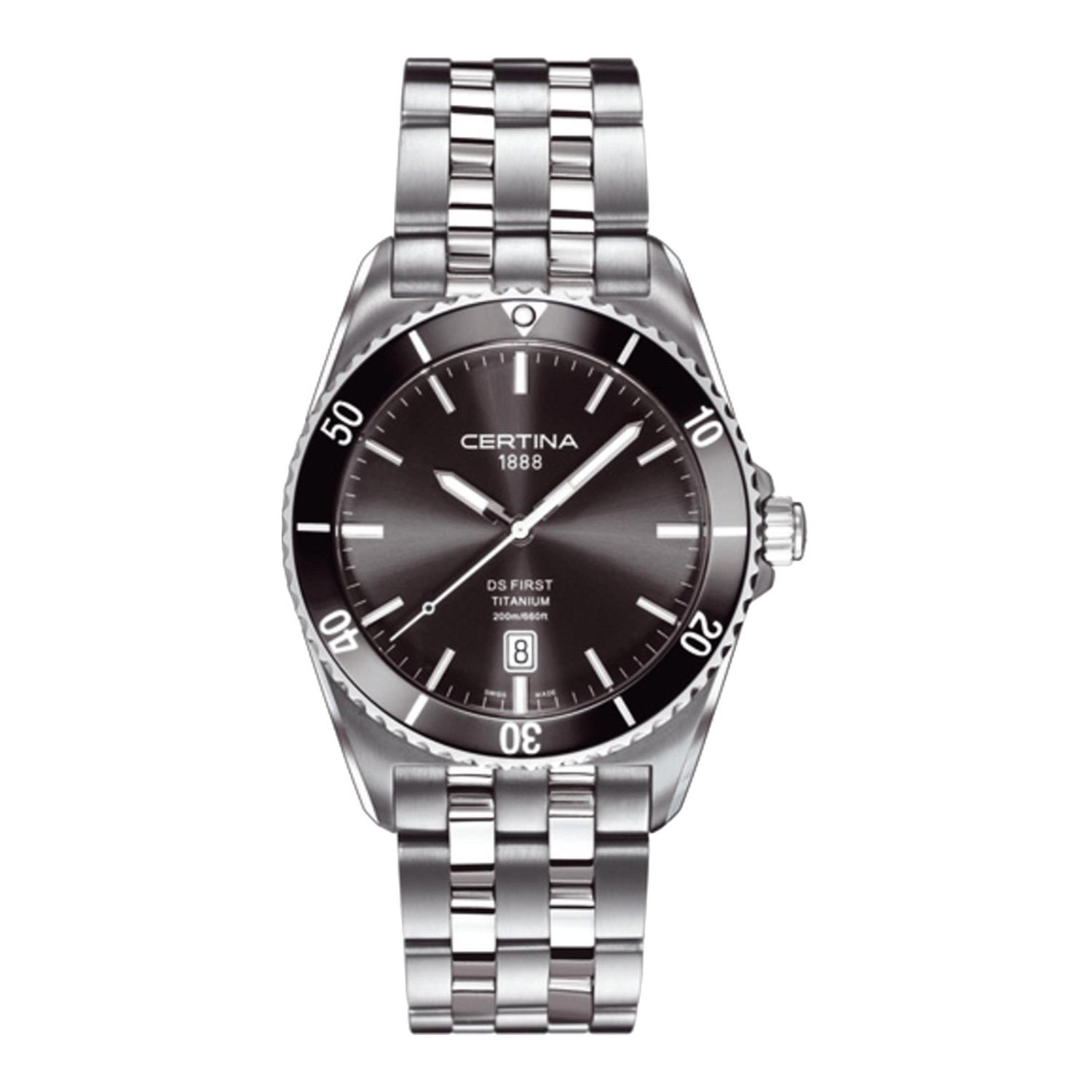 Herrenuhr Titan Certina Ds First Titanium C014 410 44 081 00 Analoge