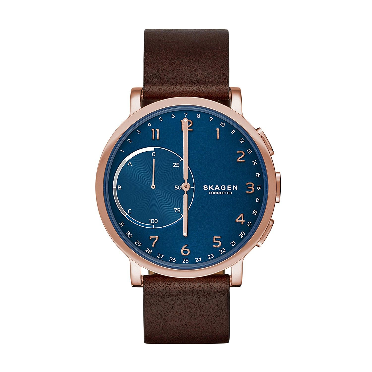Analog Uhr Skagen Connected Hybrid Smartwatch Mit Analoguhr Und