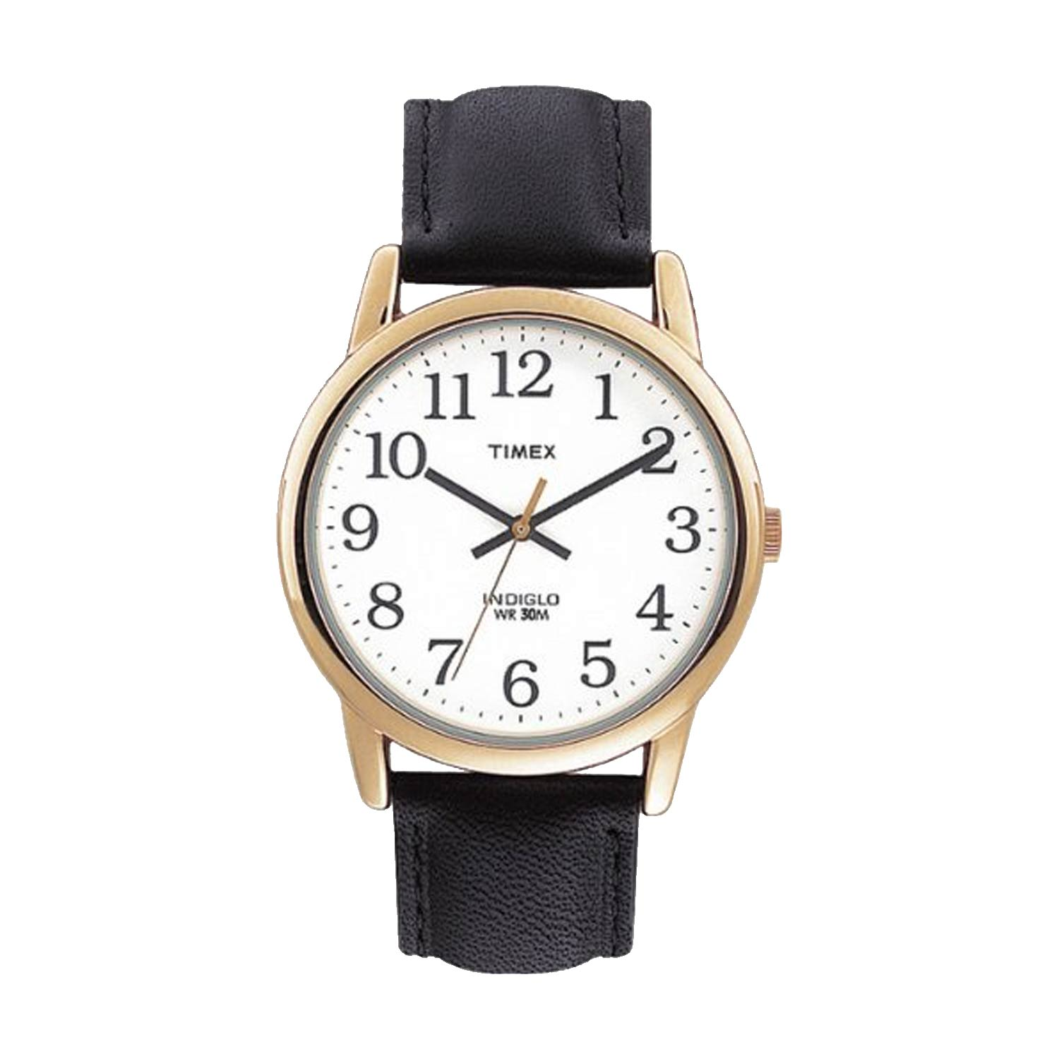 Timex Easy Reader T20491 Herren Business Uhr In Gold Weiß Schwarz