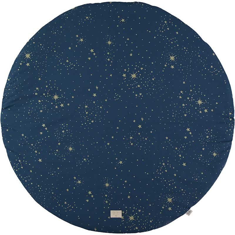 Teppich Gold Rund Teppich Rund Full Moon Ø105cm Gold Stella/night Blue