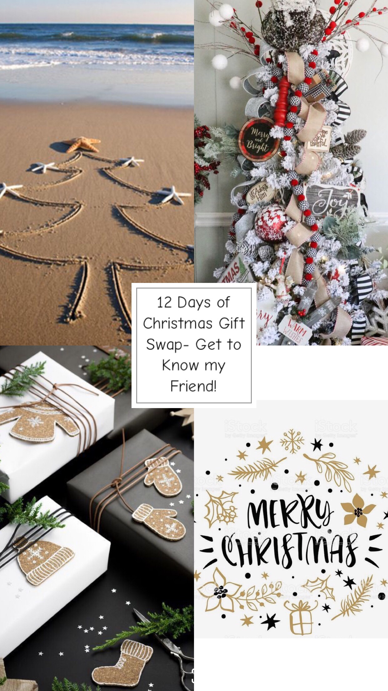 Christmas Gift For A Friend 12 Days Of Christmas Gift Swap Get To Know My Friend Tag Her