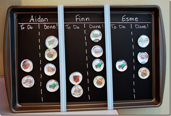 Mom Tips Her DIY Chore Charts - Her View From Home