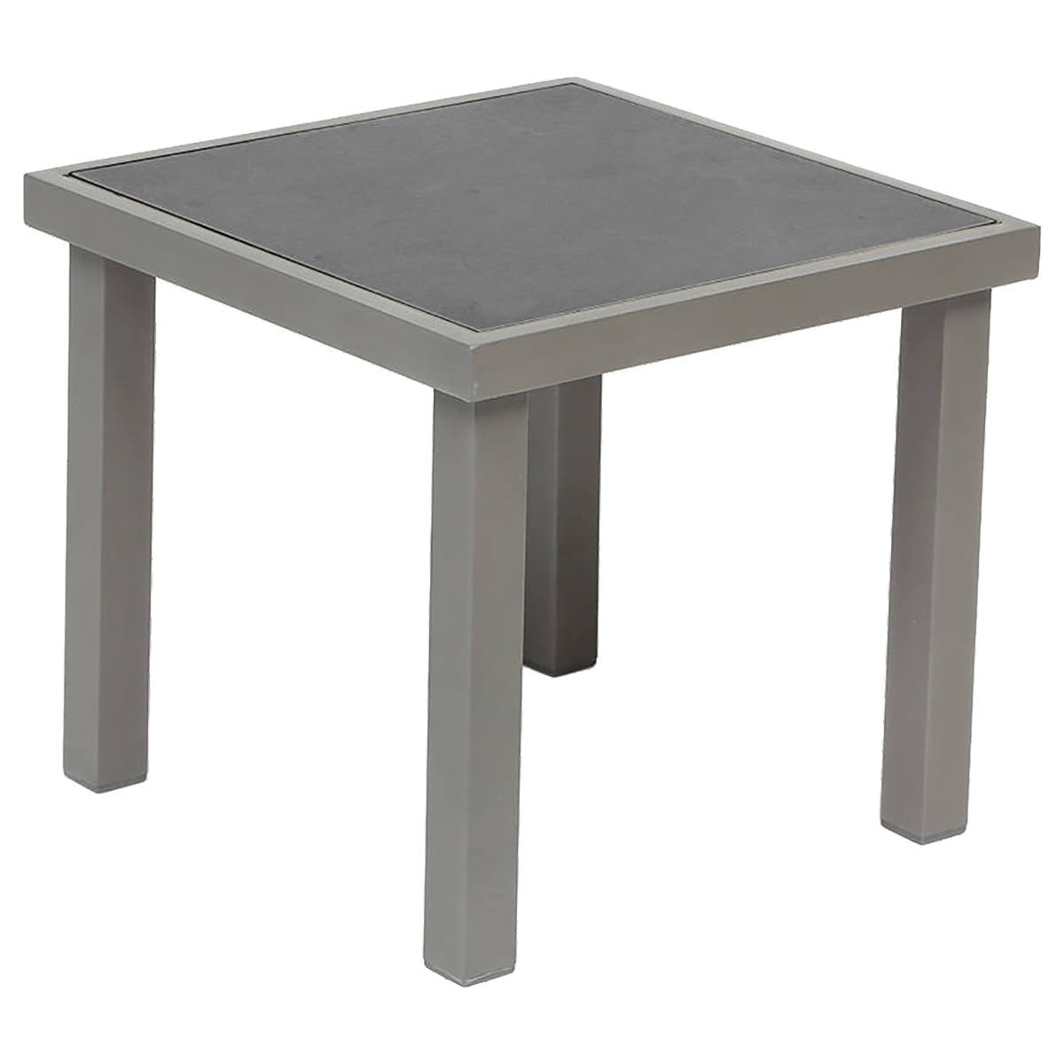 Table D Appoint De Jardin Table D 39appoint De Jardin Carrée Piazza Taupe And Mastic