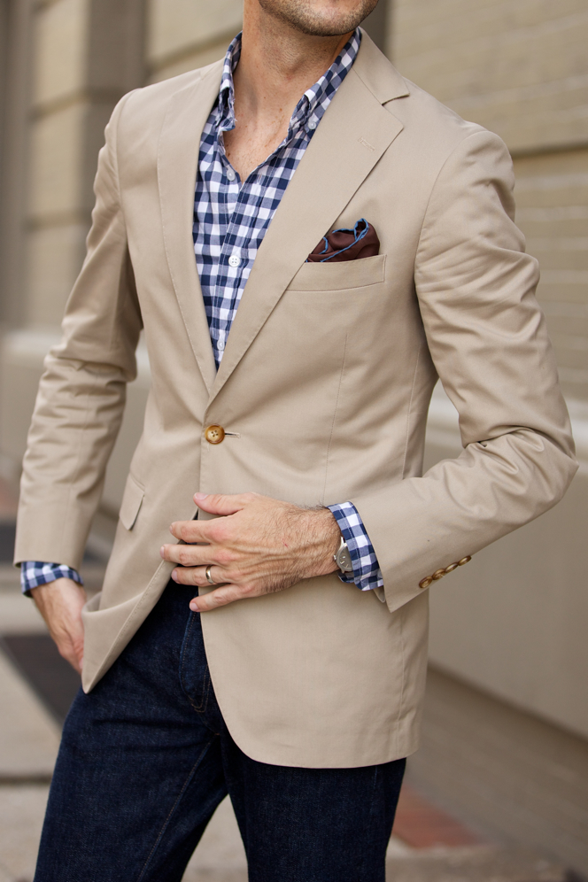 Find mens cotton khaki blazer at ShopStyle. Shop the latest collection of mens cotton khaki blazer from the most popular stores - all in one place.