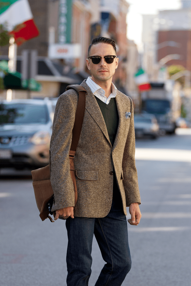Tweed Blazer Fall Essentials - He Spoke Style