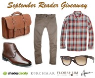 September Reader Giveaway - He Spoke Style
