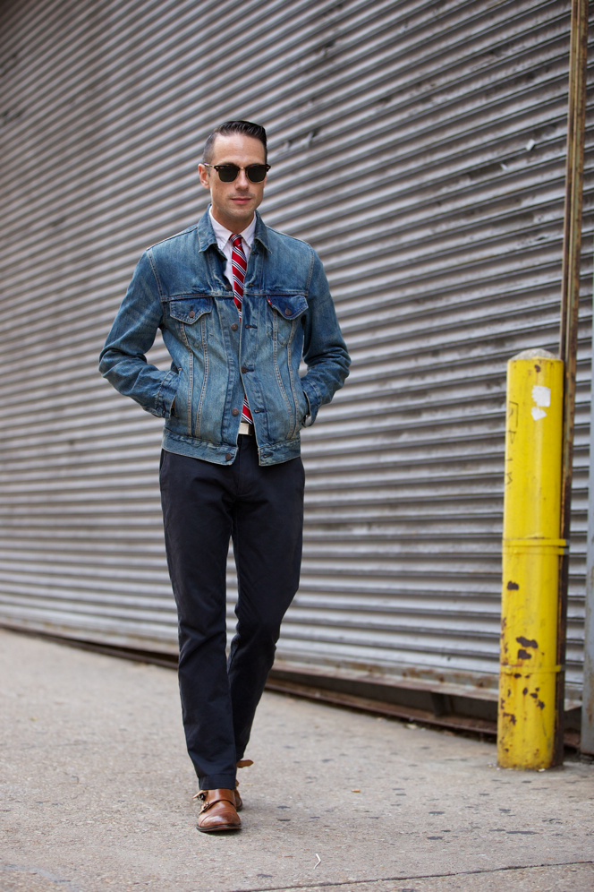 Jean Jacket Fall Essentials - He Spoke Style