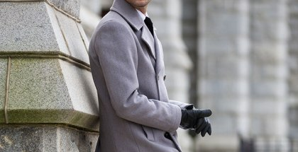 All Grey Tonal Dressing - He Spoke Style