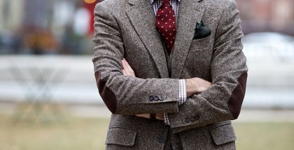 Tweed Three Piece Suit - He Spoke Style