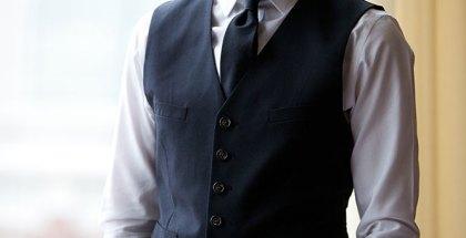 Black Waistcoat - He Spoke Style