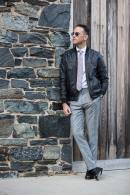Dress Up Your Leather Jacket - He Spoke Style