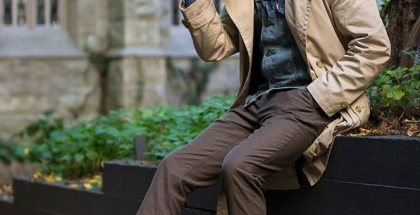 Khaki Trench Coat In-Between - He Spoke Style