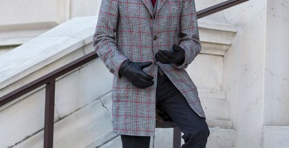 Plaid Topcoat - He Spoke Style