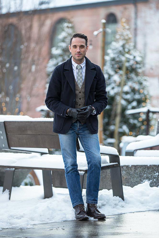Black Fleece Tie - He Spoke Style