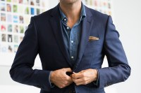 Wearing a Suit Without a Tie Style Tips - He Spoke Style