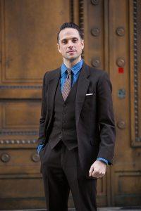 Brown Suit Shirt Combinations - Suit La