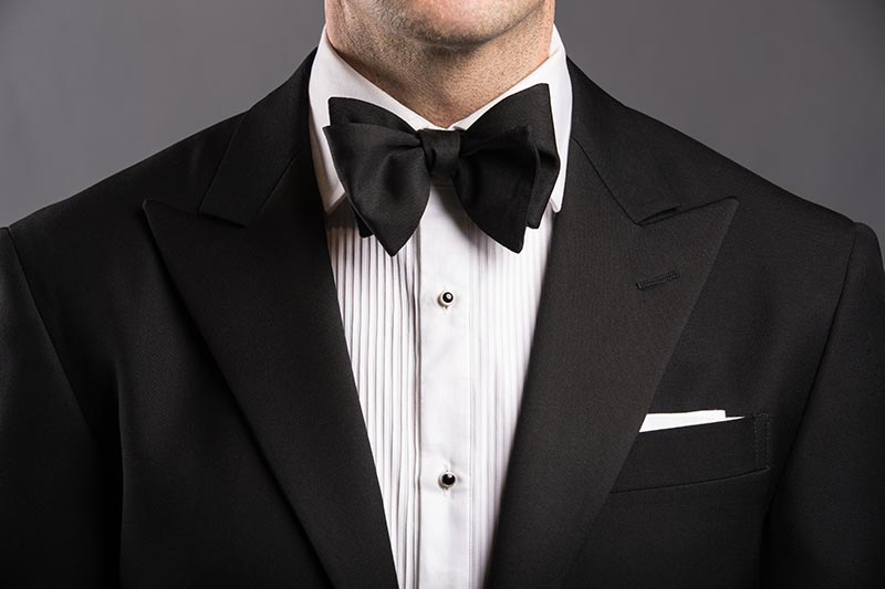 The Four Types Of Formal Bow Ties - He Spoke Style