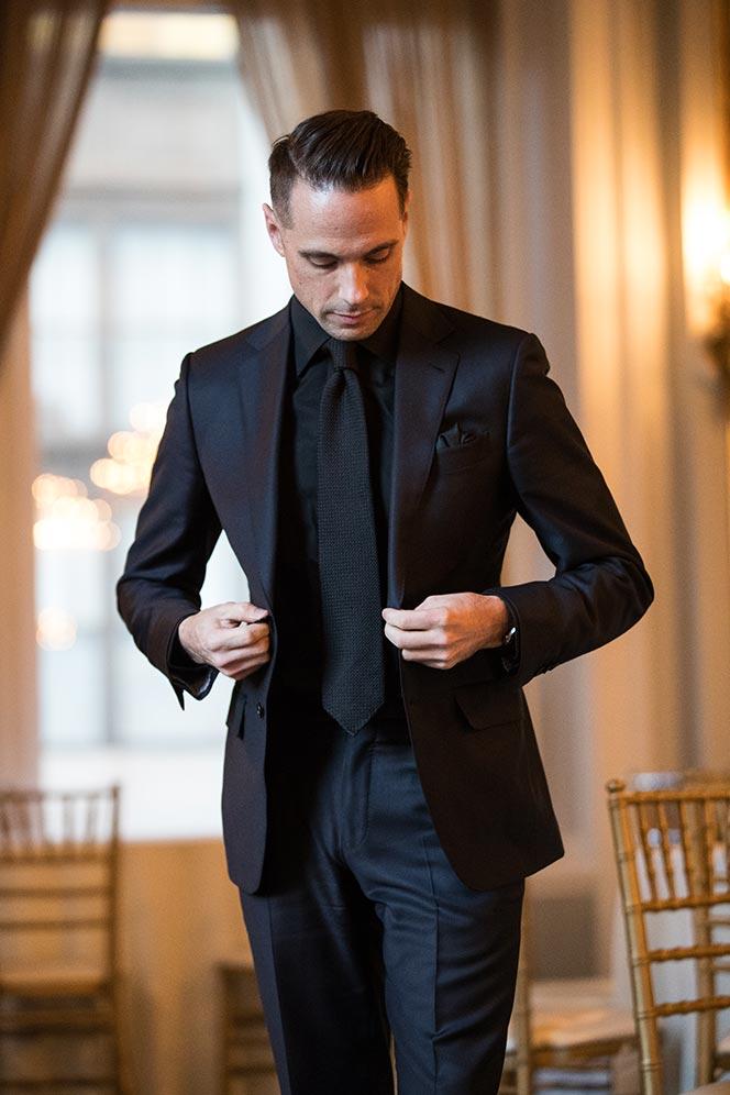Black Tie Alternative Keep It Uniform - He Spoke Style