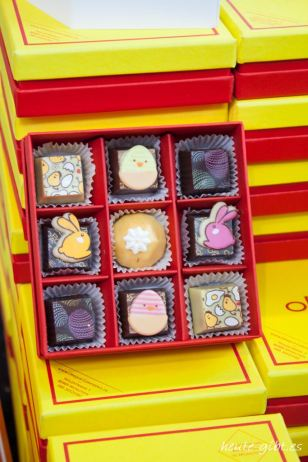 Schokoladenpräsent zu Ostern