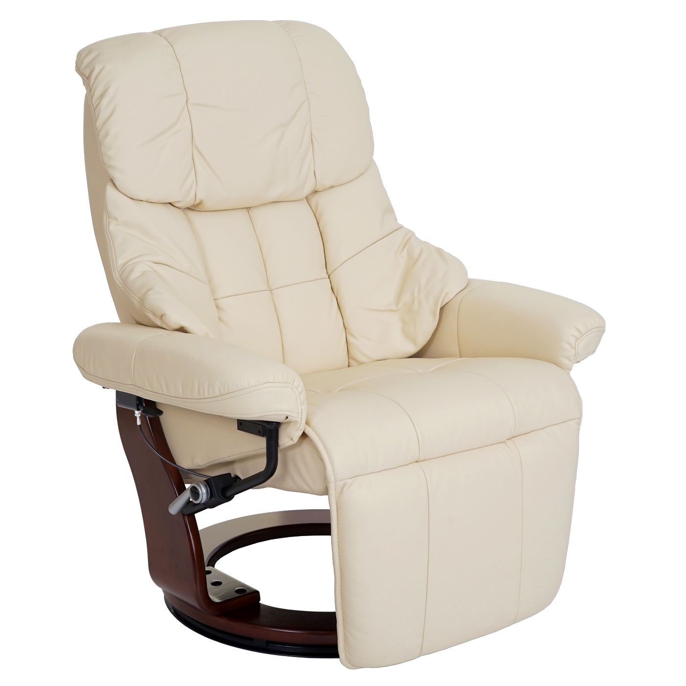 Mca Relax-sessel Calgary 2 Mca Fauteuil Relax De Télé Calgary 2 Cuir Charge 150kg