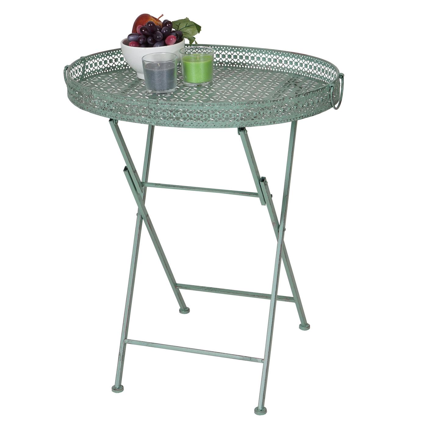 Antiker Gartentisch Gartentisch Tisch Garten Bistrotisch Eisen