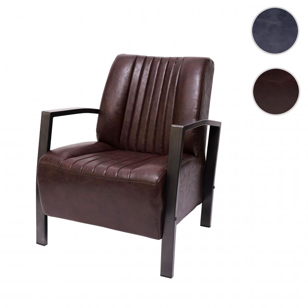 Sessel Hwc H10 Loungesessel Polstersessel Relaxsessel Metall Industriedesign Ebay