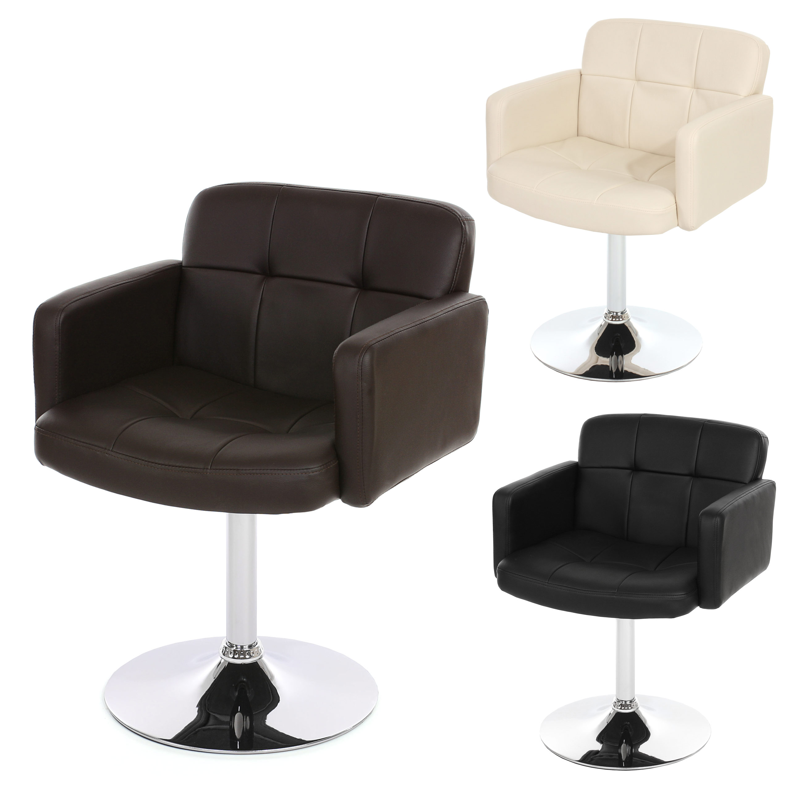 Orlando Lounge Sessel Relaxsessel Loungesessel Clubsessel Drehstuhl Sessel