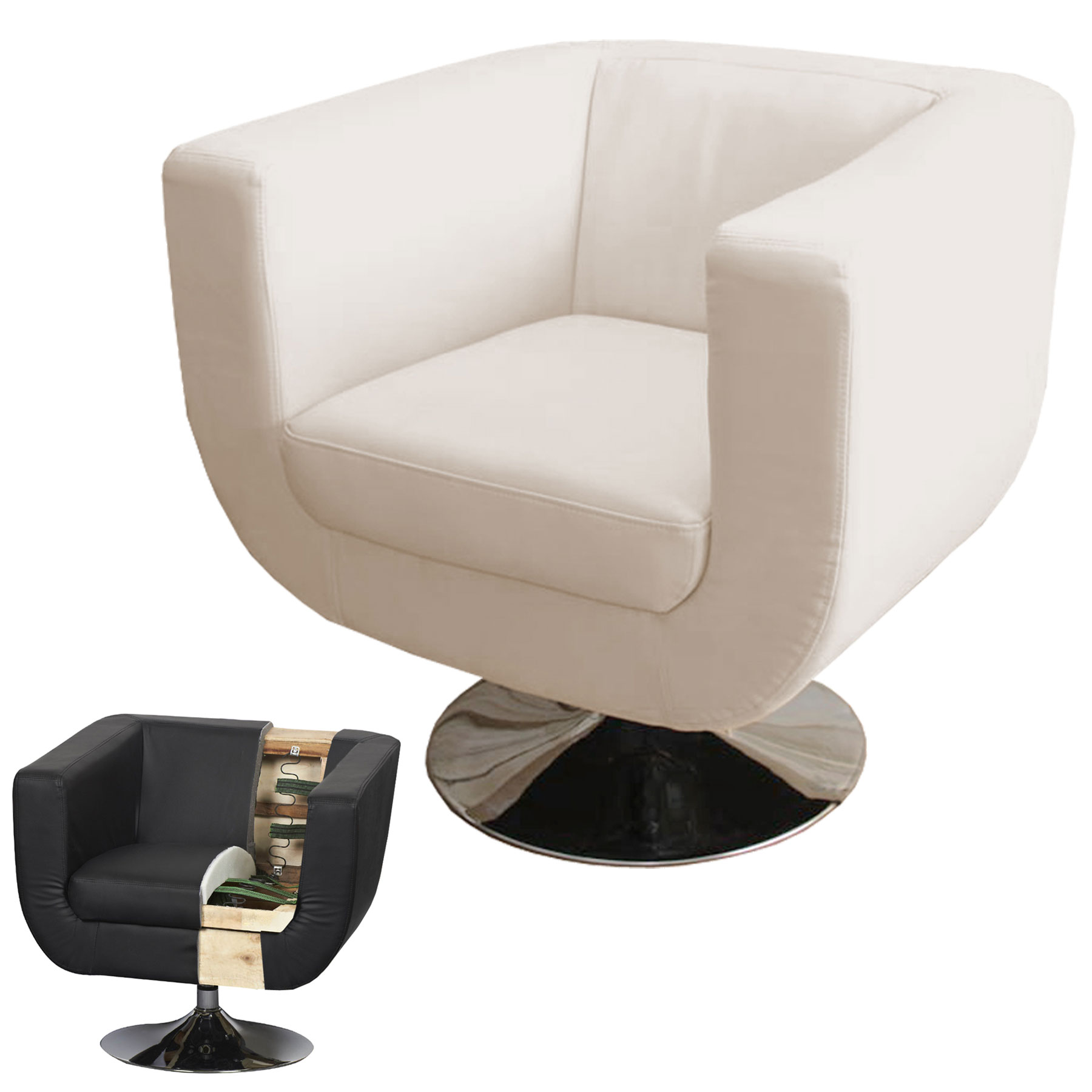 Launge Sessel Lounge Sessel Bar Sessel Club Sessel Treviso Ii Creme