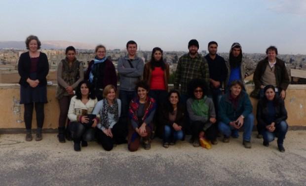 Академическая делегация в Рожаве