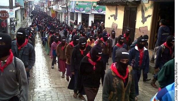 Демонстрация сапатистов