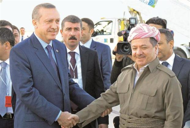 Барзани_Эрдоган