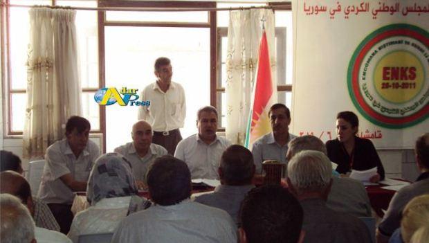 Встреча оппозиционных партий ENKS