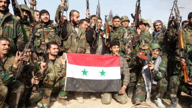 Армия режима Асада